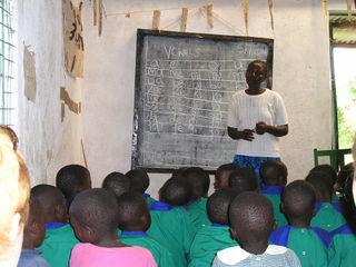 African teacher